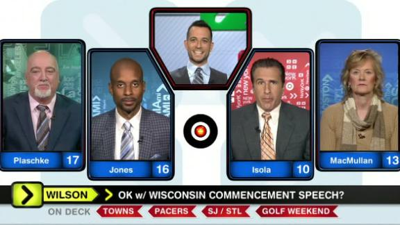 Video - Around the Horn not big fans of Wilson's speech