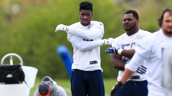 Video - Leonard Floyd needs to put weight on