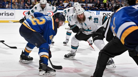 What would it mean for the Sharks or Blues to be in the finals?