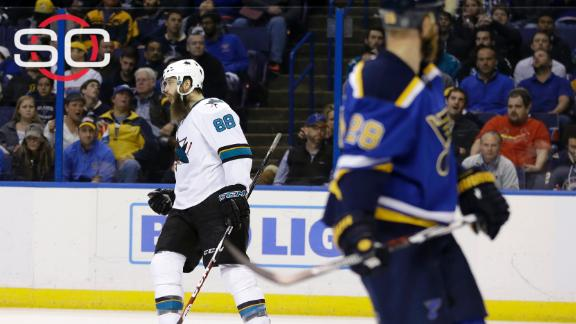 Sharks blank Blues to even series