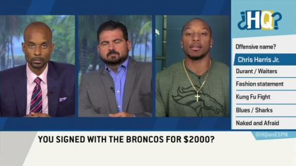 Video - Broncos CB only got two grand for signing