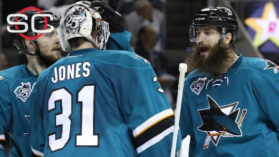Sharks blank Blues again, take 2-1 series lead