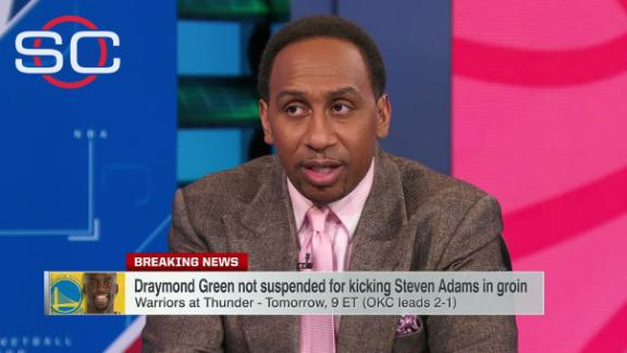 Stephen A. 'incredibly happy' Green will not be suspended