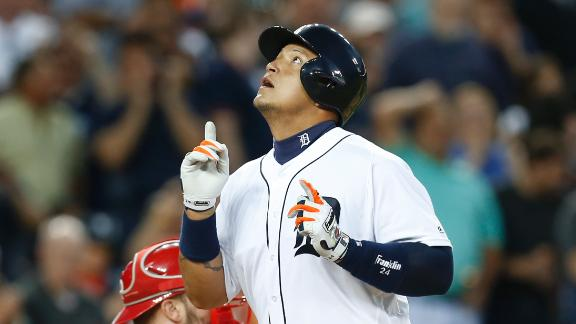 Tigers smash three homers in the fifth
