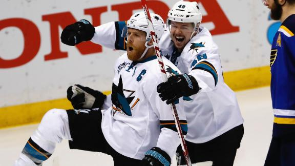 Pavelski's wicked deflection scores game winner