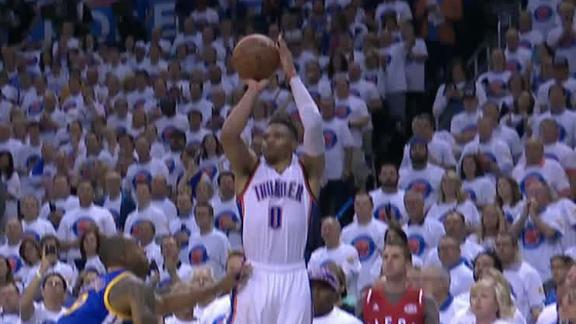 Westbrook seals the deal with 3-point shot