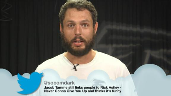 Video - Jacob Tamme reads 'mean' tweets