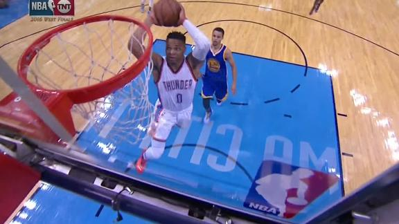 Westbrook throws down the hammer