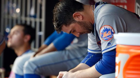 Harvey gives up five runs over five innings in loss