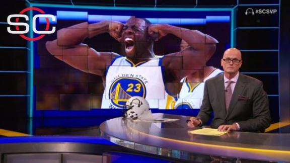 Playing close to the edge is just Draymond Green