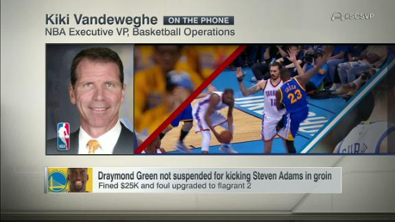 Why did the NBA opt not to suspend Draymond Green?