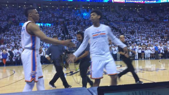 Russ and Cam ready for Game 4