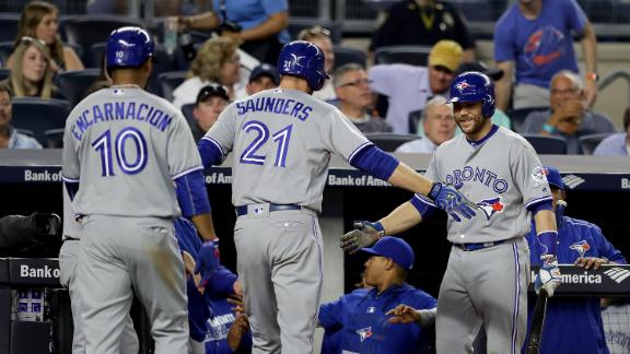 Blue Jays snap Yankees streak