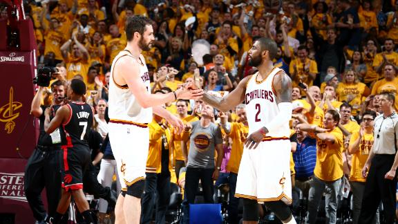 Home sweet home: Cavaliers roll in Game 5