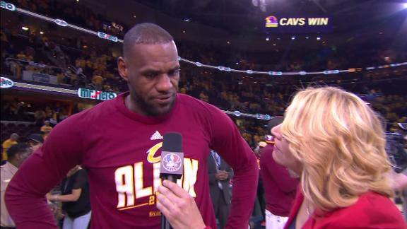 LeBron: 'It started with Kevin, we followed his lead'