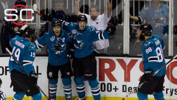 Sharks fend off Blues, advance to first Stanley Cup finals
