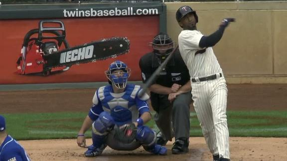 Nunez, Dozier hit early back-to-back homers