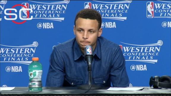 Stephen Curry says 'series isn't over' for Warriors after Game 4 loss