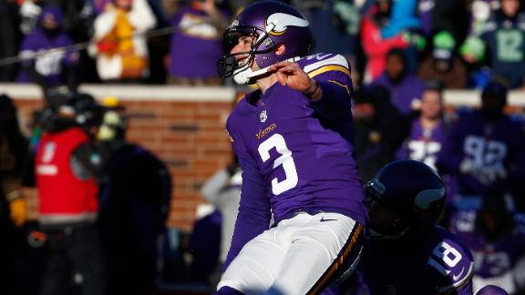 Video - Vikings kicker not defined by playoff miss