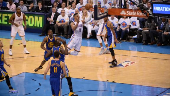 All-Access: Westbrook shines again to put Warriors on ropes