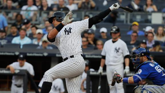 A-Rod returns, Yankees fall to Blue Jays