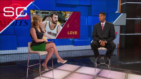 How can the Cavs get a more consistent effort out of Love?