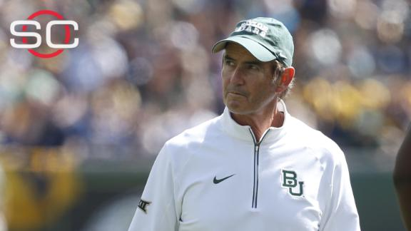 Baylor to fire Briles, reassign president Starr