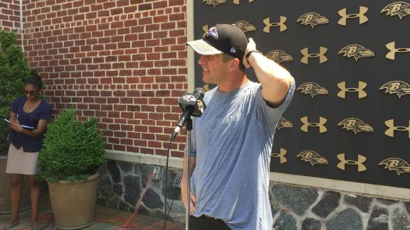 Harbaugh on rules violation: It's on me