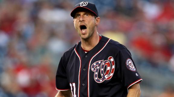 Scherzer's bad third inning costs Nationals