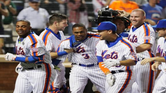 Mets walk-off with Granderson solo home run
