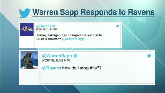 Video - Sapp has fun with Jernigan on social media