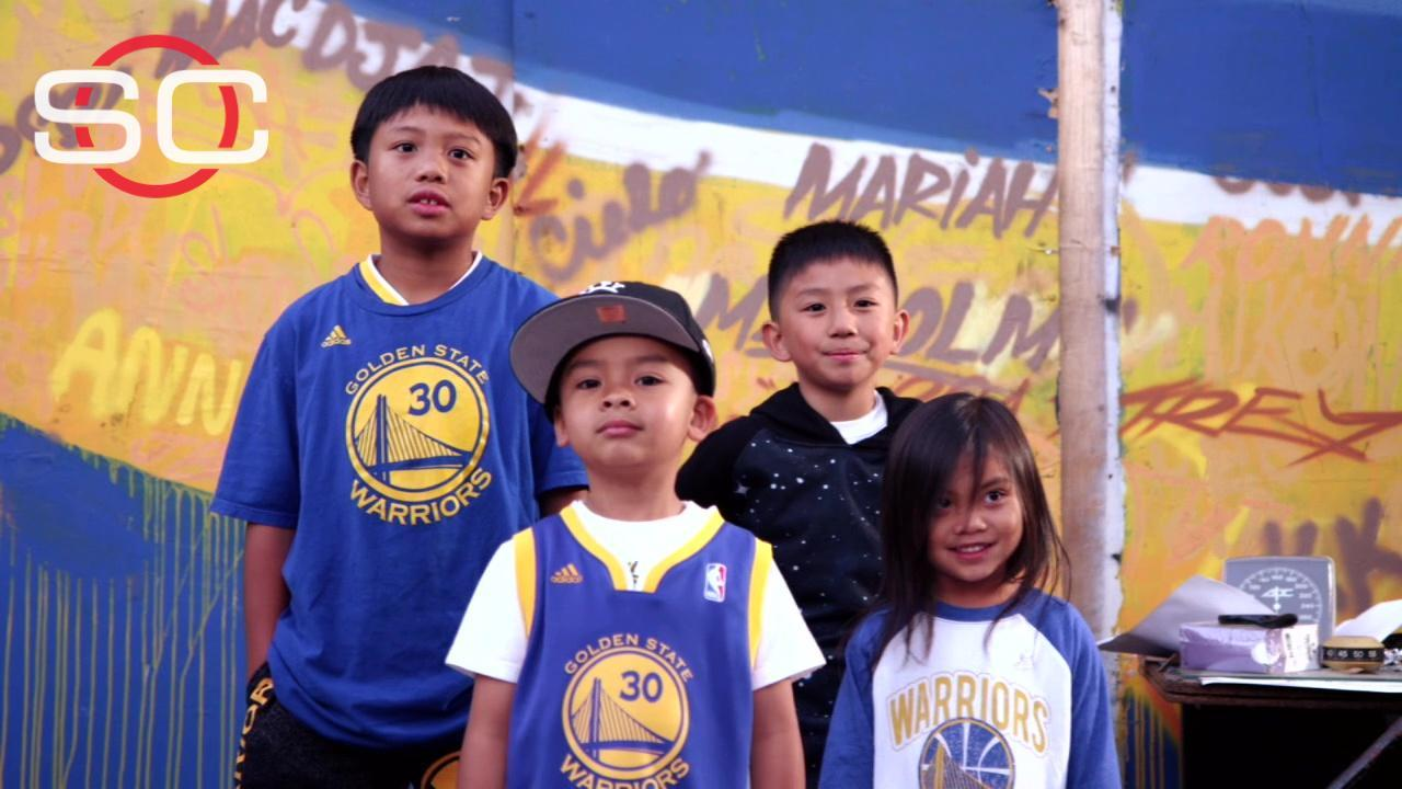 Curry inspiring young hoops fans