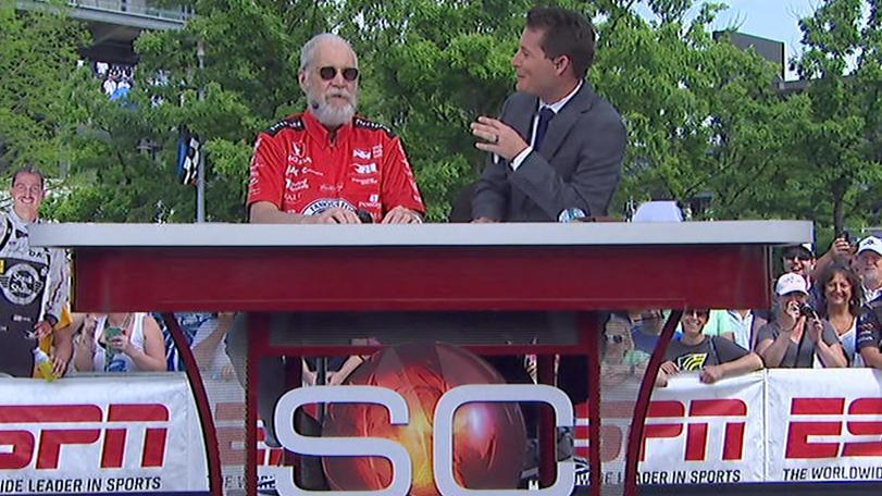 Letterman will fake his death if team doesn't win Indy 500