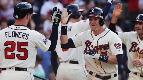 Beckham blast helps Braves sink Marlins