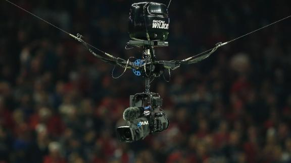 Sporting KC nails the sky cam with clearance