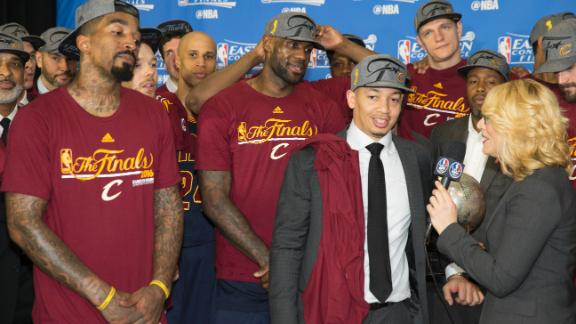 Cleveland's journey to the NBA Finals