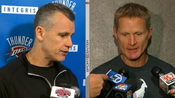 Donovan, Kerr share team's mentalities going into Game 6