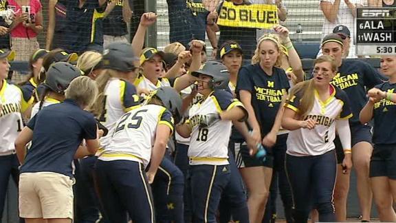 Michigan takes Game 1