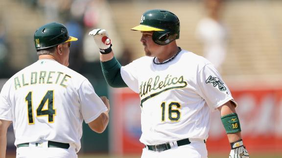 Butler propels A's past Tigers