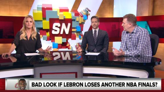Kellerman: LeBron's real record in The Finals is 2-and-2