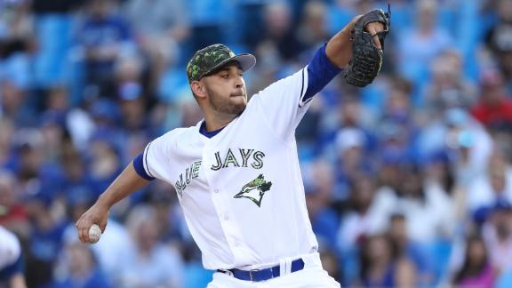 Estrada, Blue Jays double up Yankees