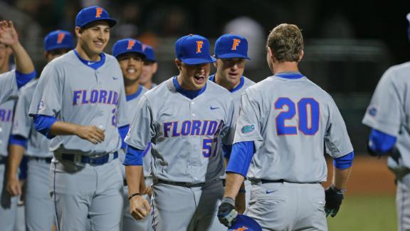 Florida leads field of teams in NCAA Baseball Tournament