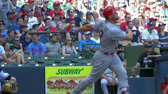 Holliday's moonshot is a thing of beauty