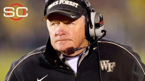 Jim Grobe tabbed as Interim coach at Baylor