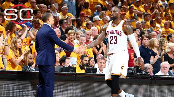 Lue: 'LeBron is like a coach'