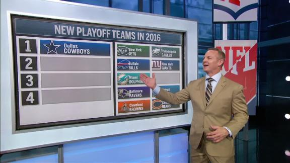 Hoge has the Cowboys making the playoffs in 2016