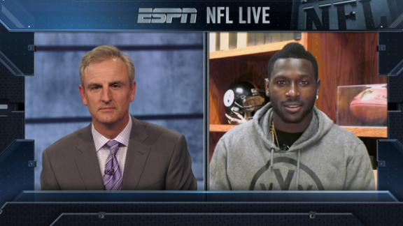 Video - Antonio Brown excited for Orlando Pro Bowl