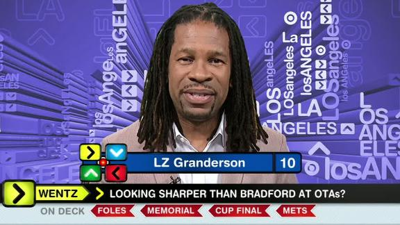 Video - Granderson: Pederson needs to embrace QB competition