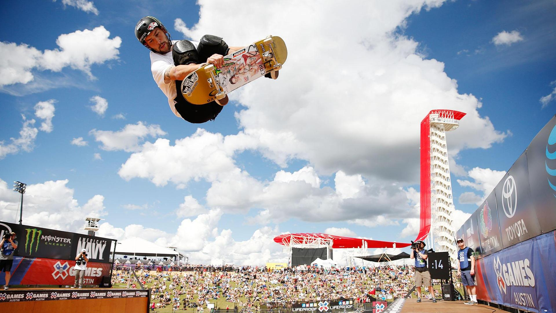 Roller skating x games - Captions Preview