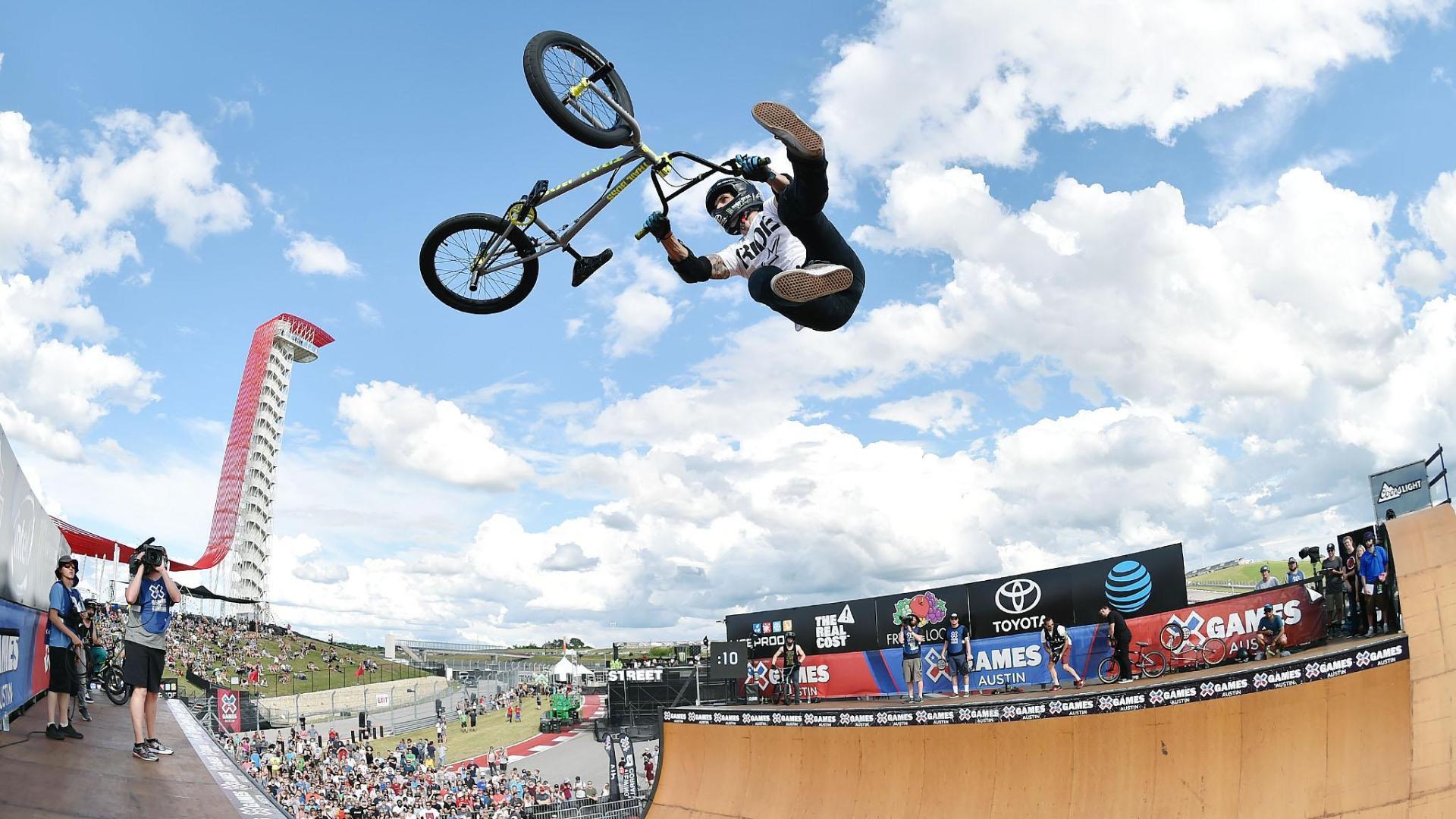 Jamie Bestwick wins X Games BMX Vert gold